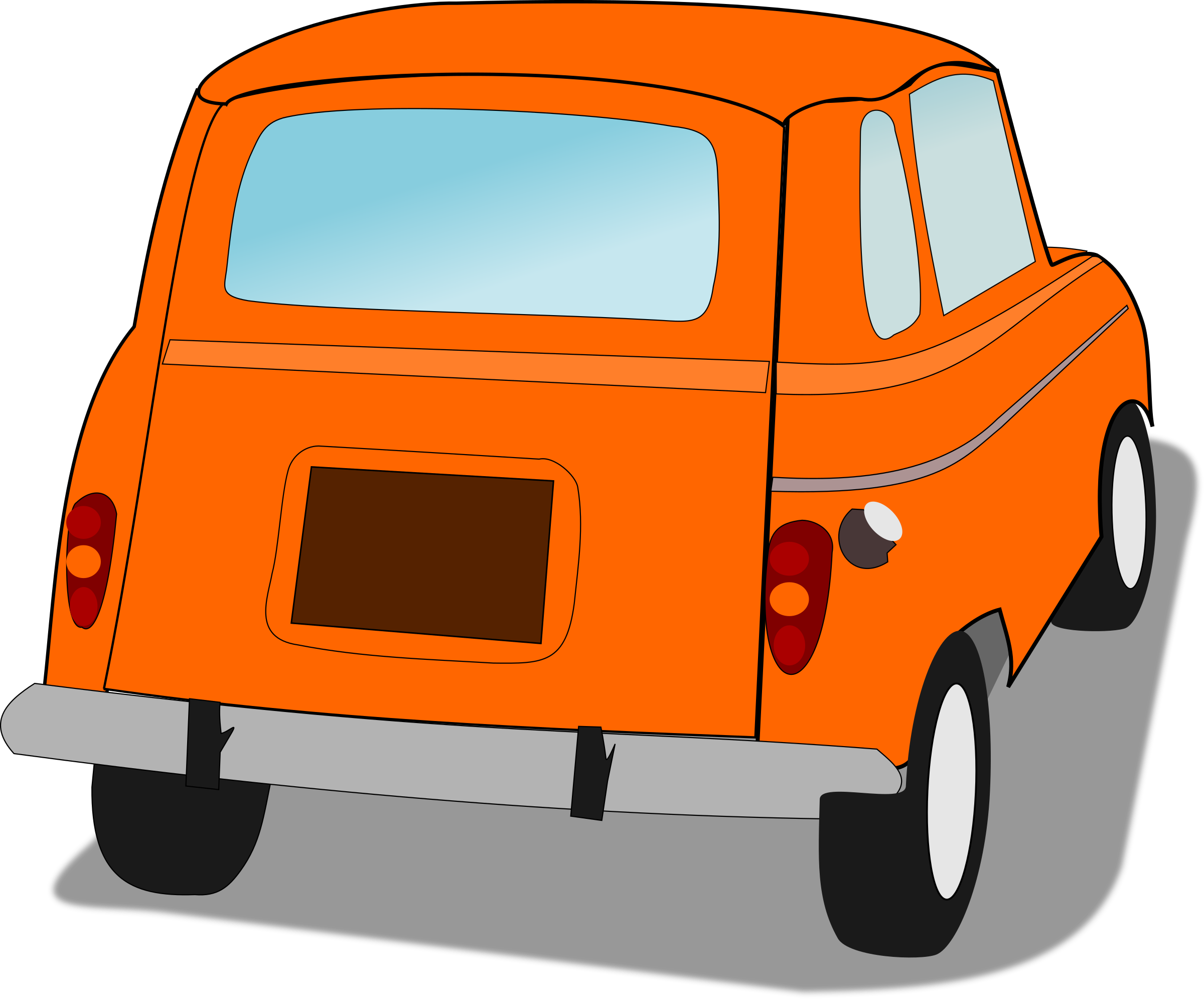 Car from behind clipart clip freeuse stock 28+ Collection of Car From Behind Clipart | High quality, free ... clip freeuse stock