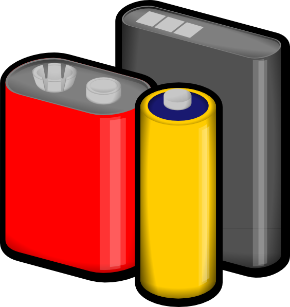 Car battery clipart clip art library stock Batteries Clip Art at Clker.com - vector clip art online, royalty ... clip art library stock