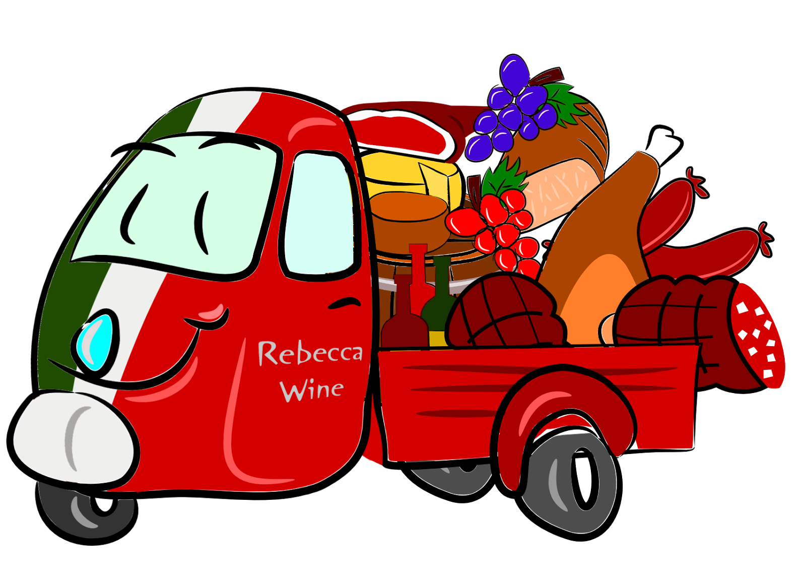 Packed car clipart banner freeuse library Rebecca Wine - touring wine country and more...: 2011 banner freeuse library