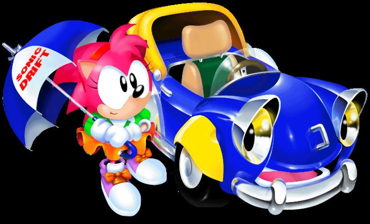 Car doing burnout clipart svg freeuse stock Sonic Drift (Game) - Giant Bomb svg freeuse stock