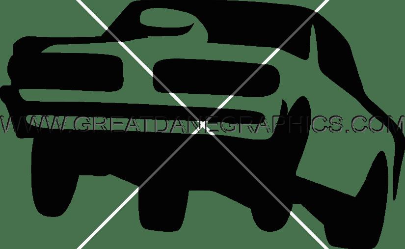 Car doing burnout clipart clip freeuse download Muscle Car Hop | Production Ready Artwork for T-Shirt Printing clip freeuse download