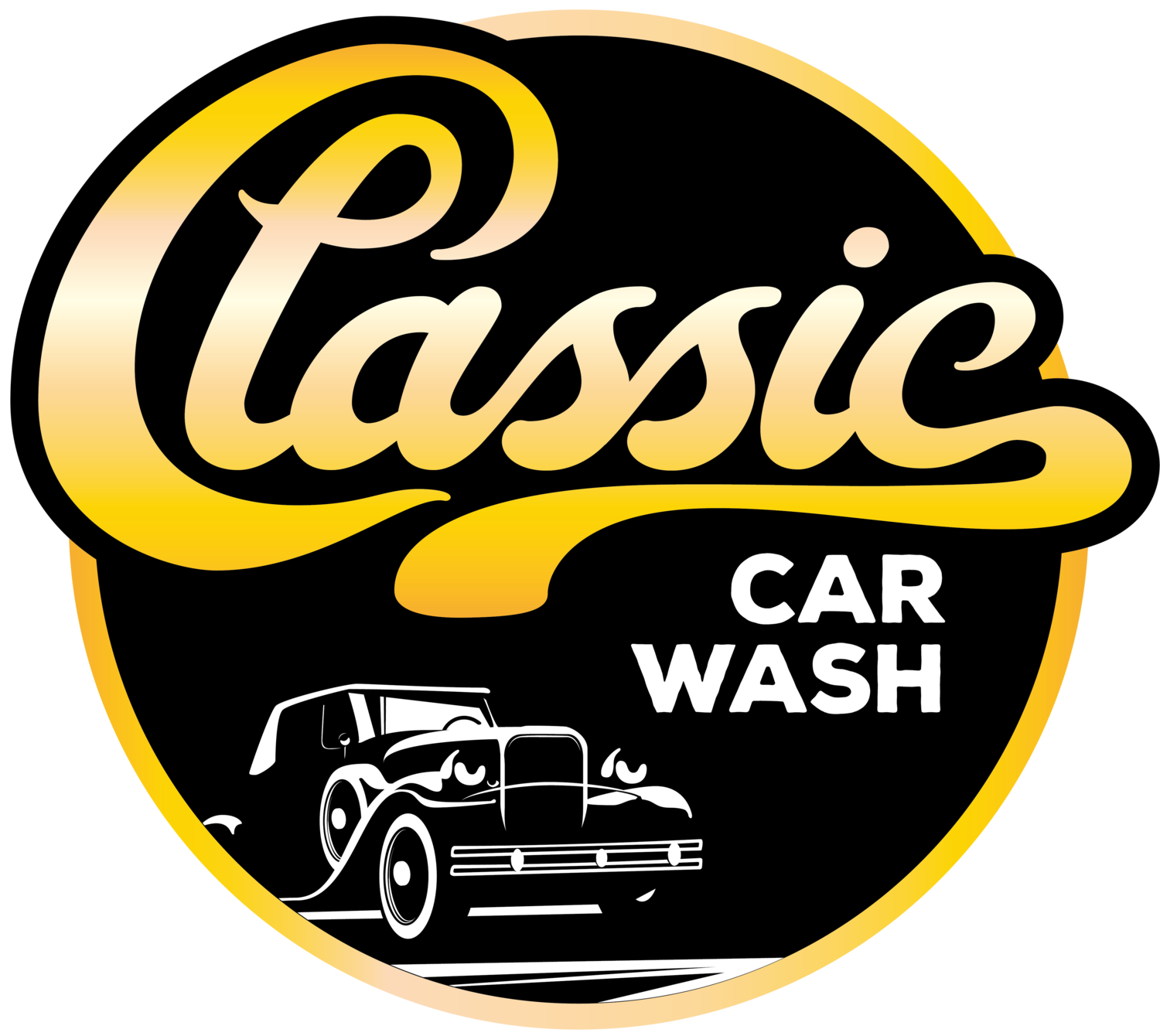 Car label clipart picture free download carcare — Classic Car Wash picture free download