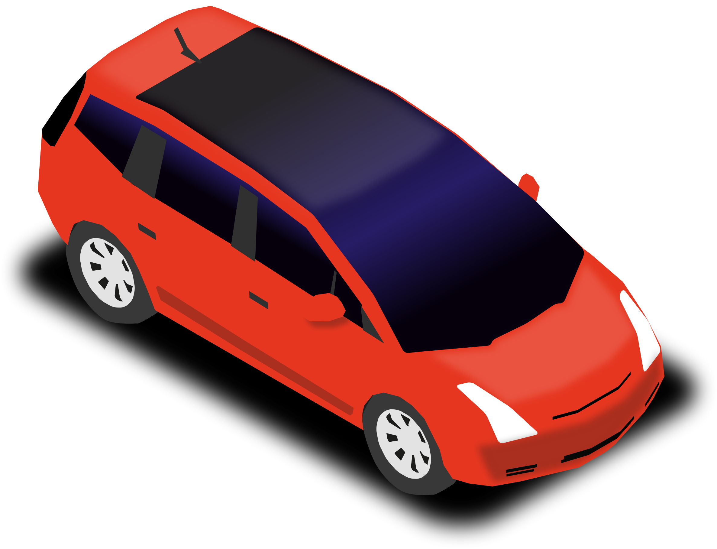 Car carrier clipart royalty free download Clipart - People carrier royalty free download