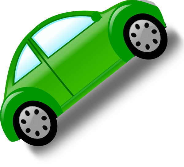 Car clipart green graphic black and white download Green Car Clip Art at Clker.com - vector clip art online, royalty ... graphic black and white download