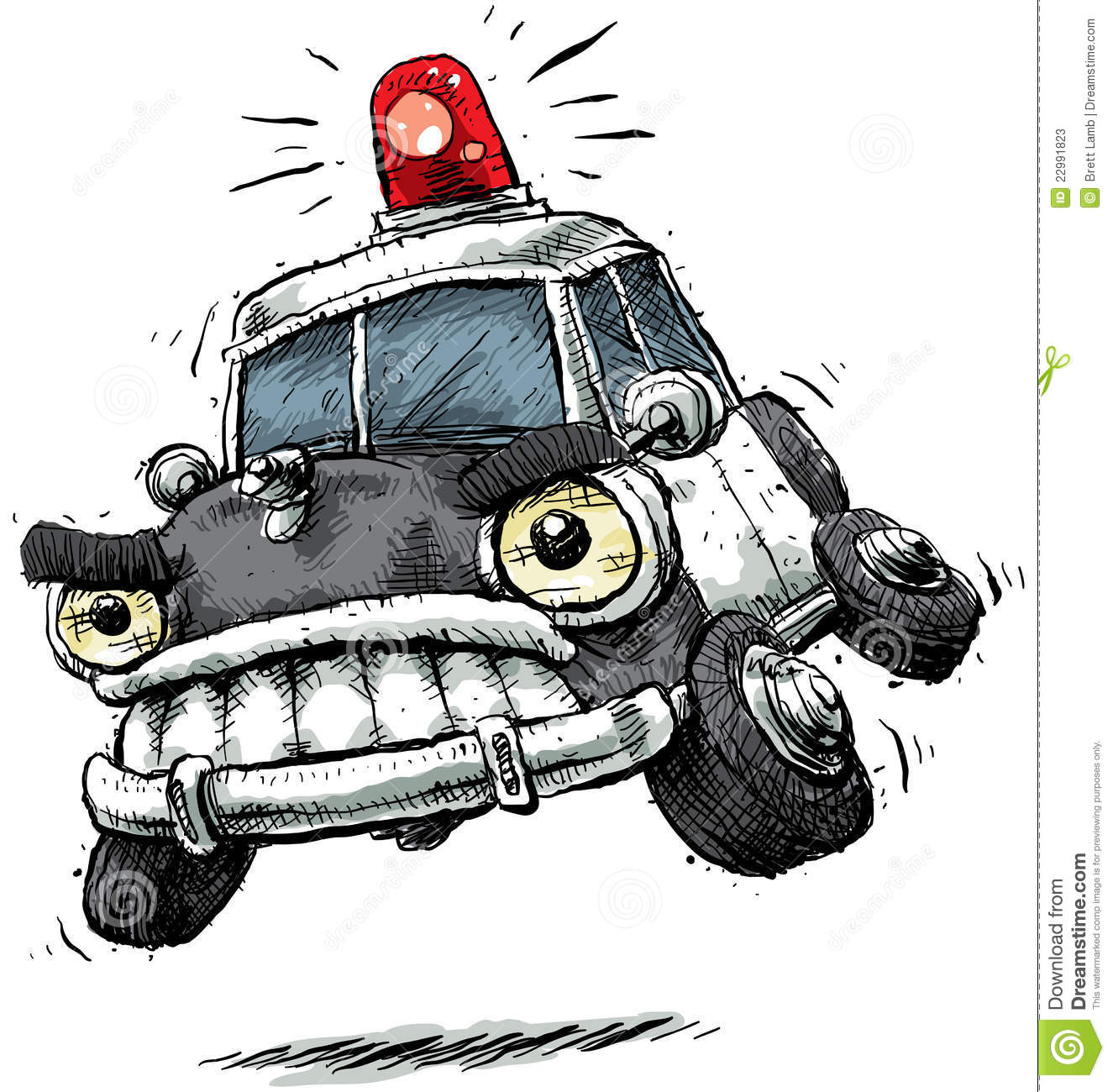 Car chase clipart picture royalty free download Cartoon Police Car Stock Photos - Image: 22991823 picture royalty free download