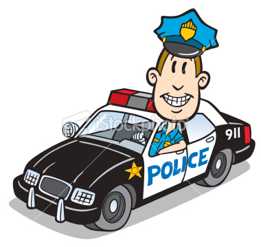 Car chase clipart banner black and white stock Police Cartoon | Free Download Clip Art | Free Clip Art | on ... banner black and white stock