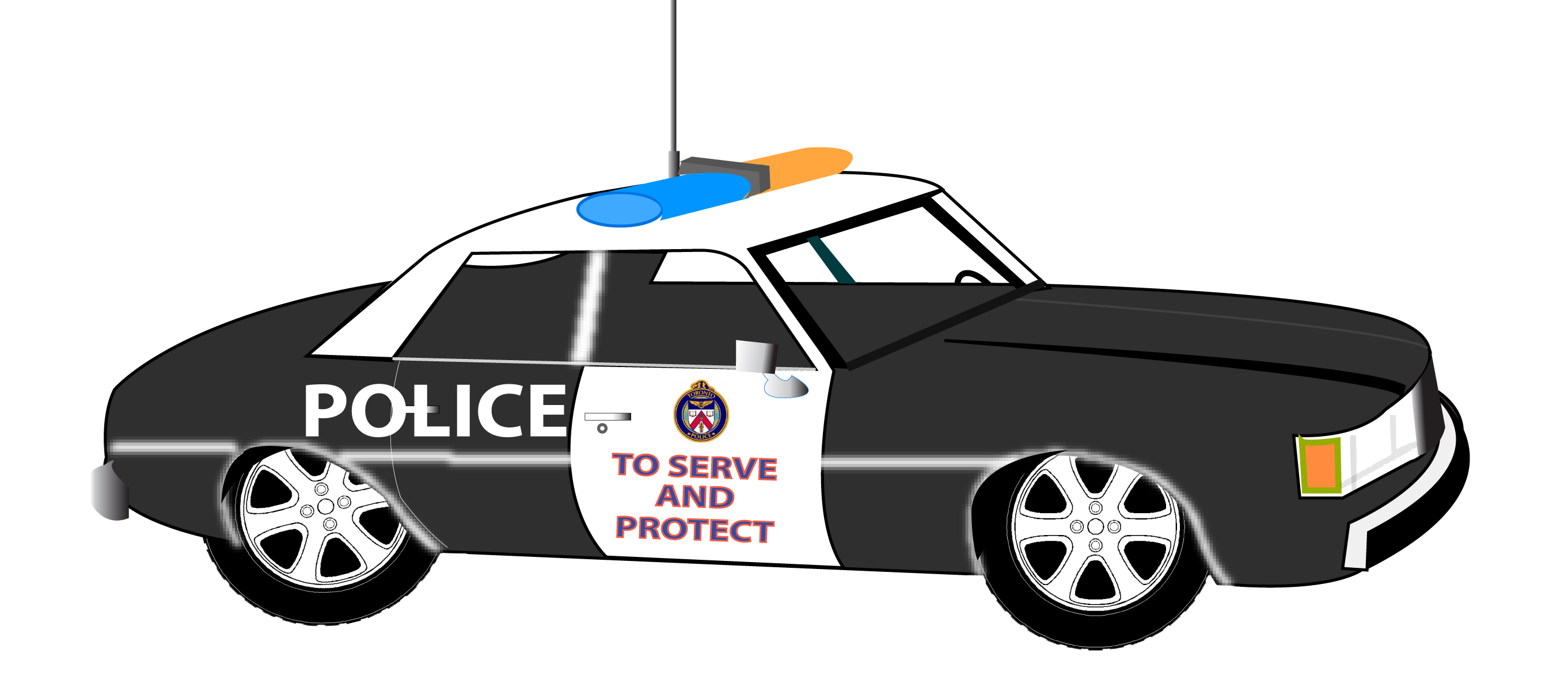 Car chase clipart graphic royalty free library Police car clipart images - ClipartFest graphic royalty free library