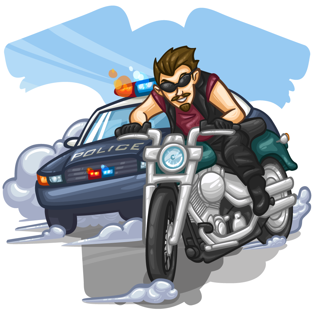 Car chase clipart police graphic library stock Item Detail - Police Chase :: ItemBrowser :: ItemBrowser graphic library stock