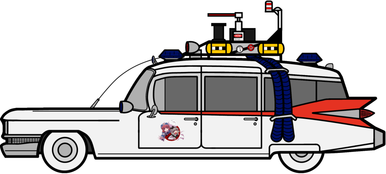 Ghostbusters car clipart png ECTO-1 (Create.swf Prop) by Feraligono on DeviantArt png