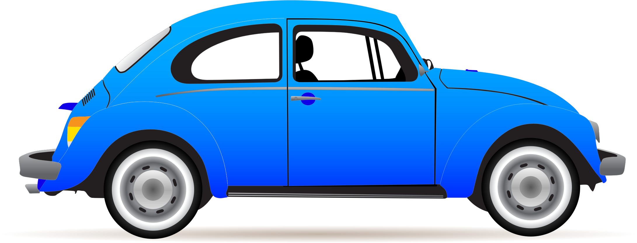Car clipart banner black and white library Blue car clipart - ClipartFest banner black and white library