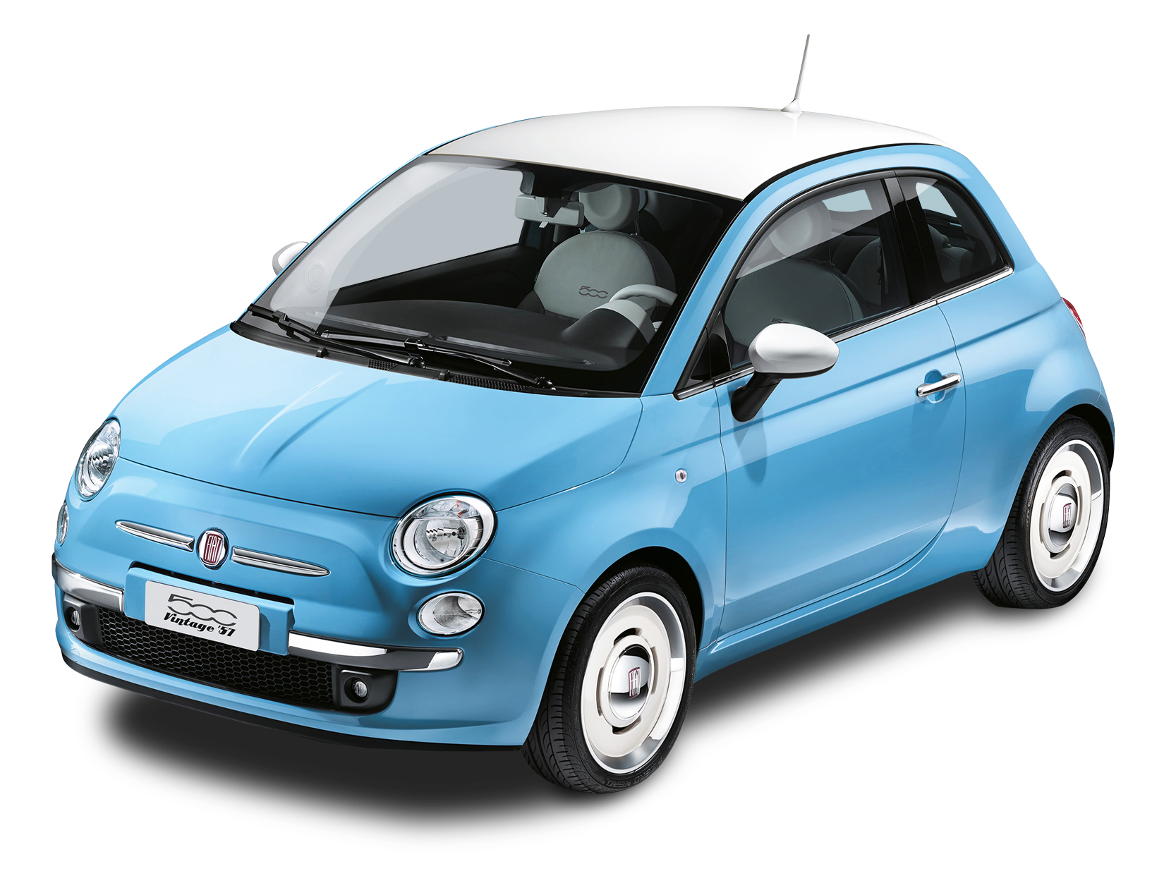 Car clipart background picture freeuse library Blue Fiat 500 Vintage 57 Car PNG Image - PurePNG | Free transparent ... picture freeuse library