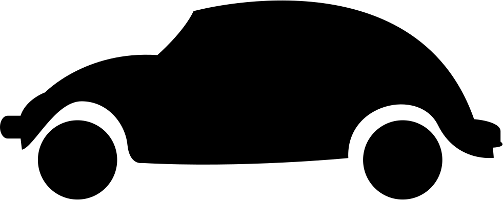 Car clipart black and white side view png free download Car Rounded Shape Side View Svg Png Icon Free Download (#8875 ... png free download