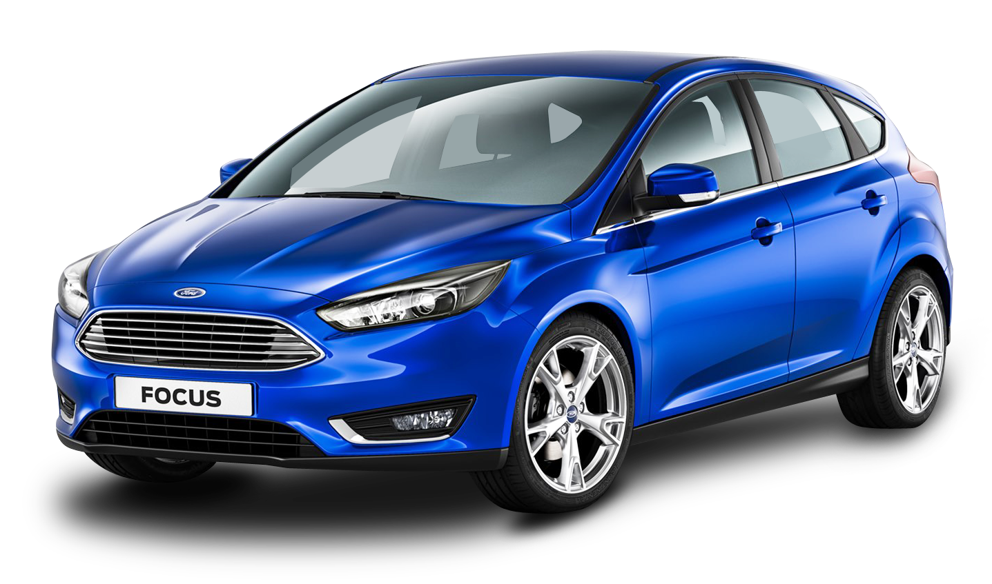 Car clipart transparent background picture royalty free Blue Ford Focus Car PNG Image - PurePNG | Free transparent CC0 PNG ... picture royalty free
