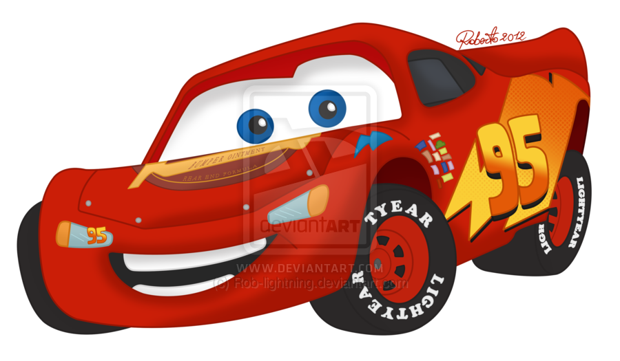 Lightning mcqueen colored by. Disney car clipart