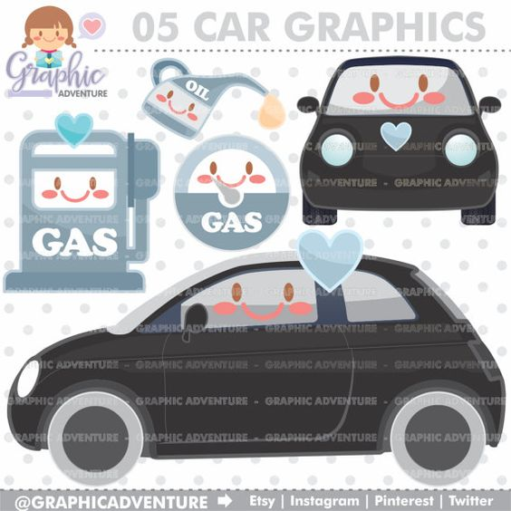 Car clipart for commercial use clip art royalty free stock Car Clipart, Car Graphics, COMMERCIAL USE, Kawaii Clipart, Planner ... clip art royalty free stock