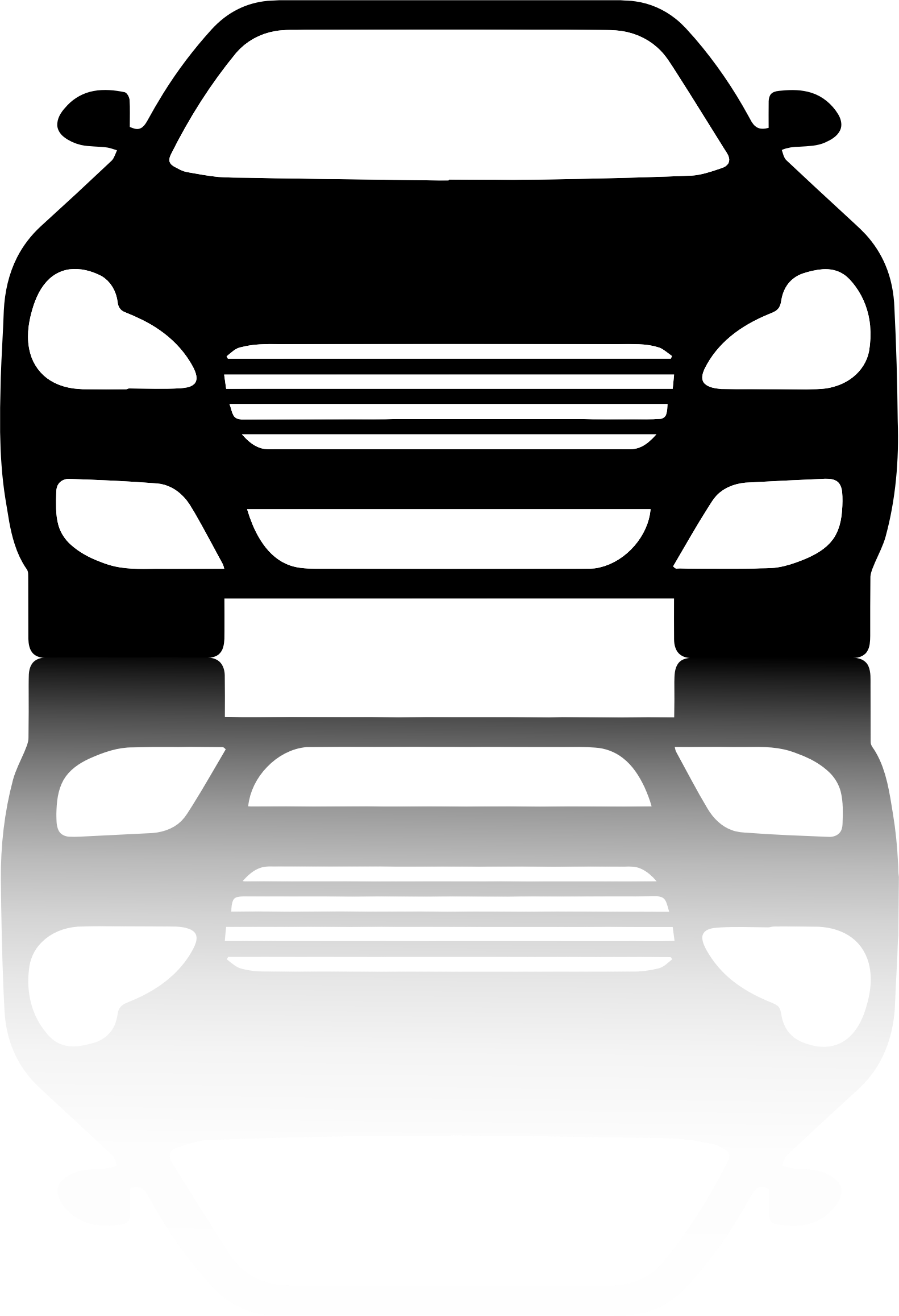 Car front clipart picture freeuse download 28+ Collection of Car Front Clipart | High quality, free cliparts ... picture freeuse download
