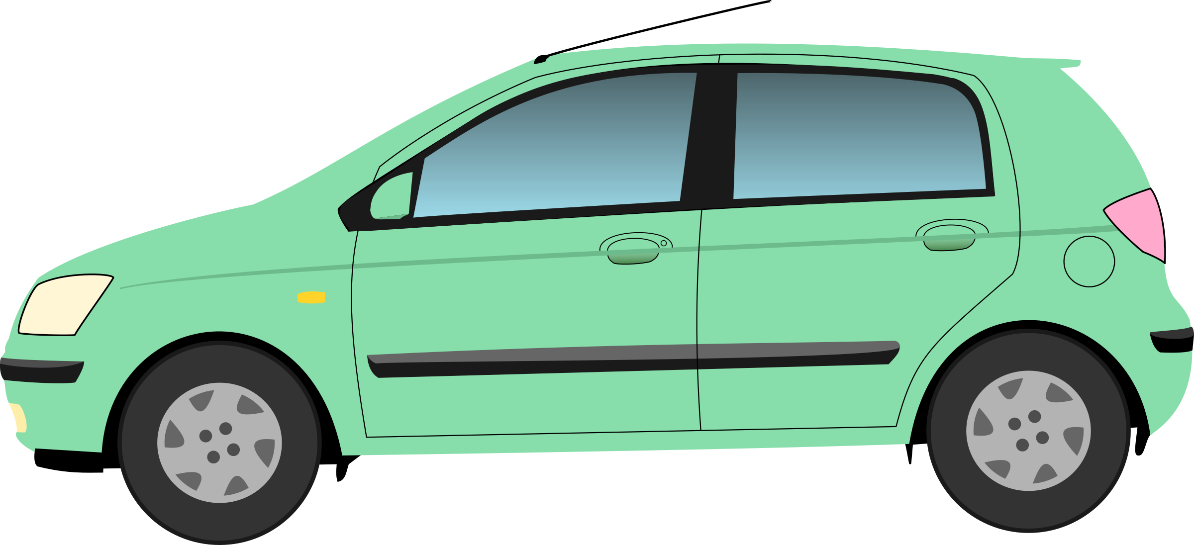 Car clipart green jpg library download Clipart - Hyundai Getz jpg library download
