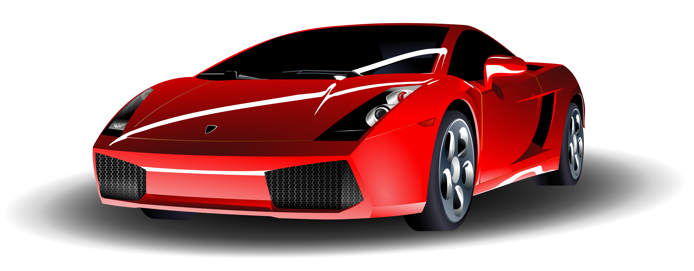 Fast car clipart transparent banner black and white library Lamborghini high resolution clipart - ClipartFox banner black and white library