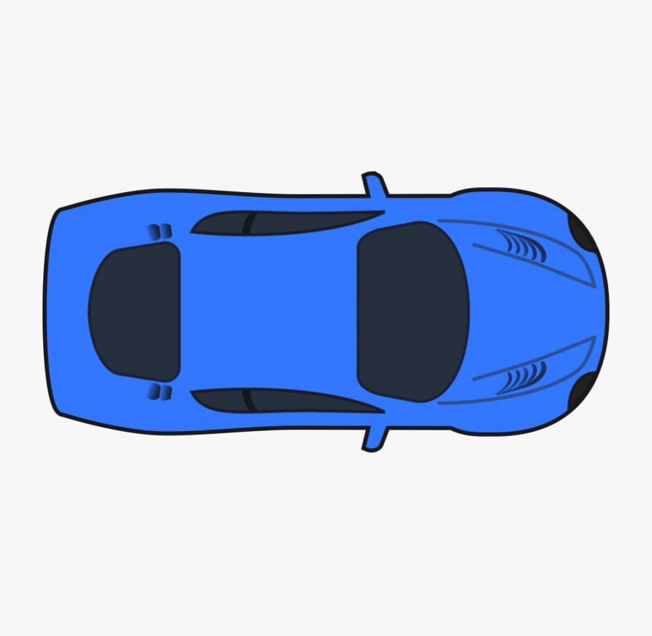 Car clipart plan view svg free library Plan Clipart Car - Car Top View Vector Png #108798 - Free Cliparts ... svg free library