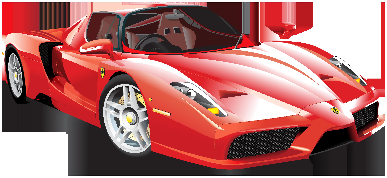 Sport car clipart svg transparent stock Red Ferrari Car PNG Clip Art - Best WEB Clipart svg transparent stock