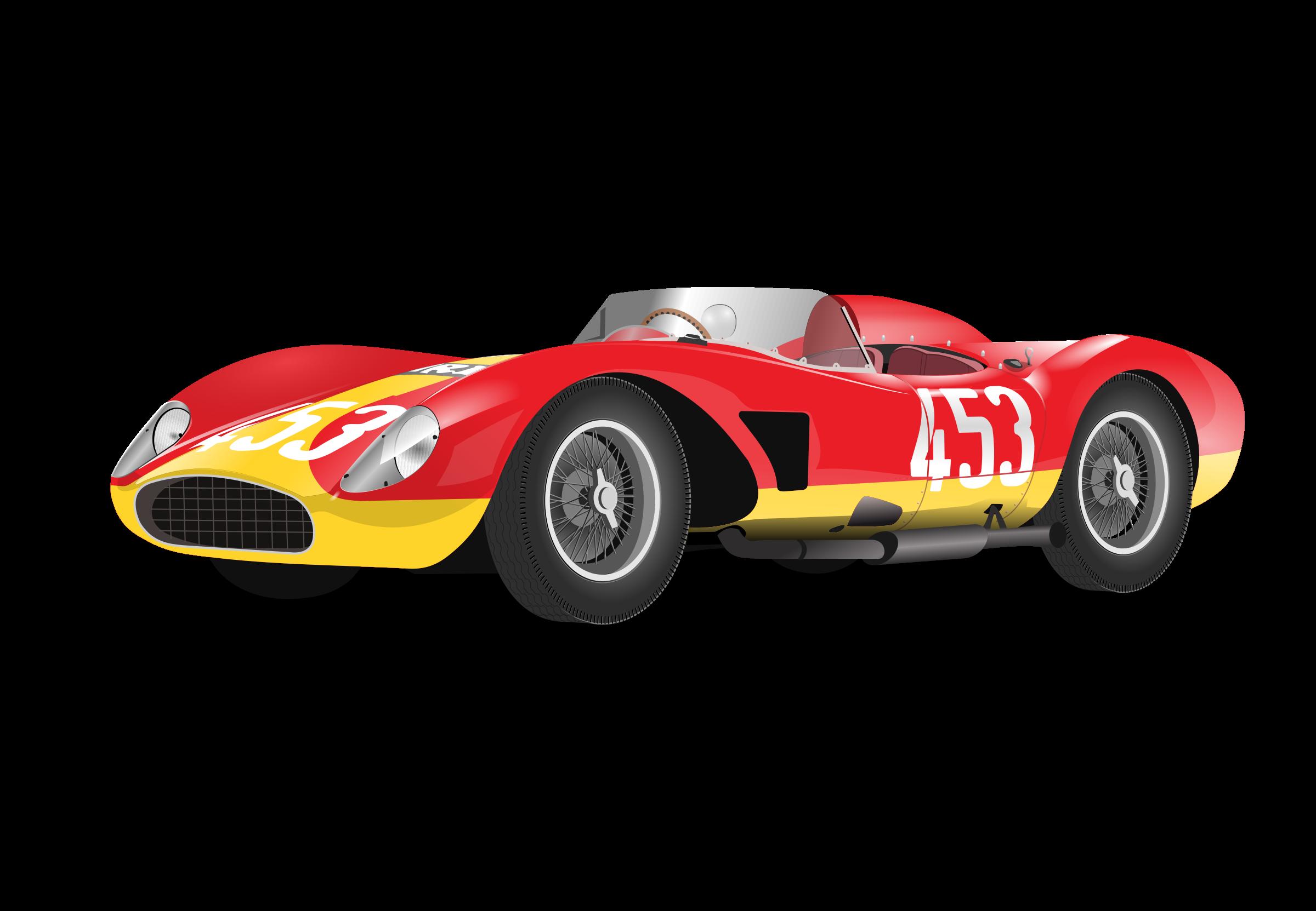 Car clipart race svg stock Clipart - red racing car (no logo) svg stock