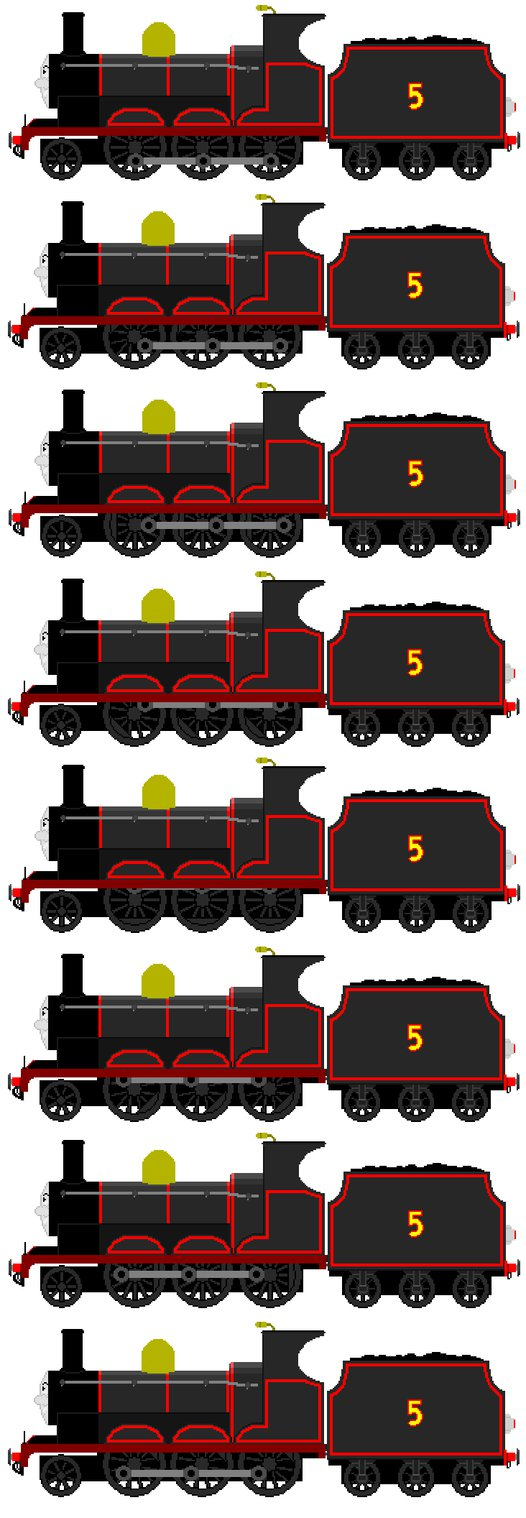 Car clipart sprite sheet vector RWS Black James (Full Sprite Sheet) by FavoriteArtMan on DeviantArt vector