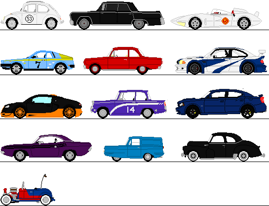 Car clipart sprite sheet jpg black and white library Car Sprite - ClipArt Best jpg black and white library
