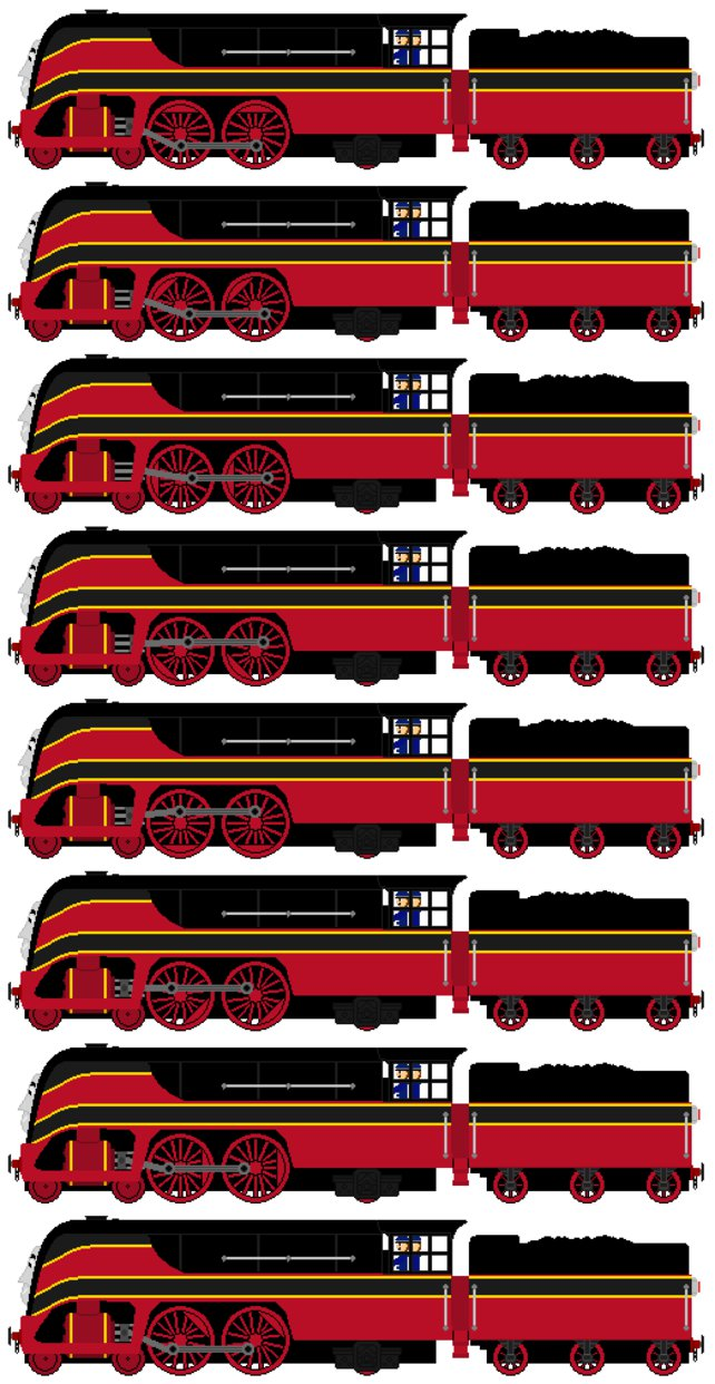 Car clipart sprite sheet graphic stock Axel the SNCB Type 12 Engine (Sprite Sheet) by JamesFan1991 on ... graphic stock