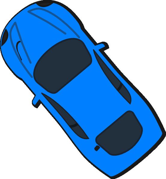 Car top view clipart graphic Blue Car - Top View - 130 Clip Art at Clker.com - vector clip art ... graphic