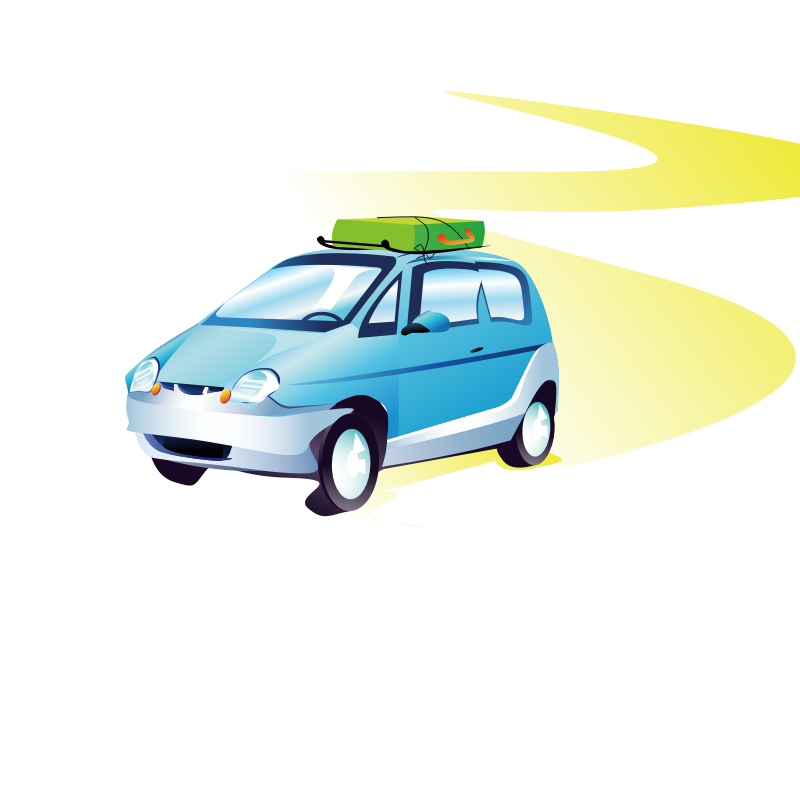 Car clipart vector clipart royalty free library Clipart - travel car - Clip Art Library clipart royalty free library