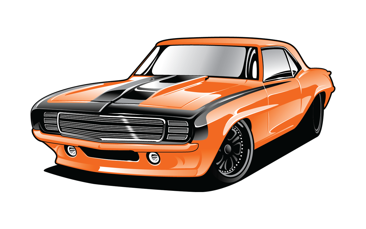 General lee car clipart svg black and white library 1968 Chevrolet Camaro & Pontiac Firebird | RainGear Wiper Systems ... svg black and white library