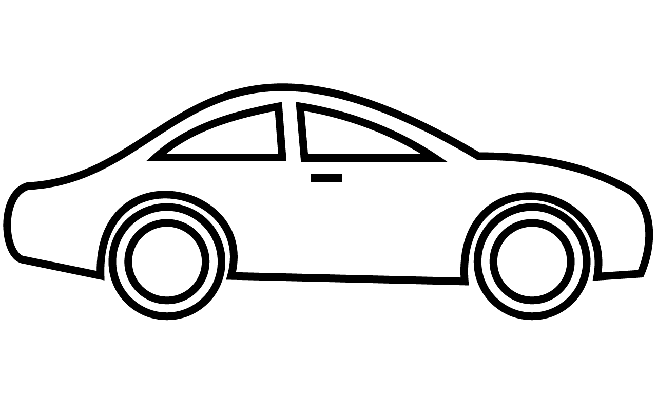 Clipart car outline graphic free stock Car Images Drawing at GetDrawings.com   Free for personal use Car ... graphic free stock