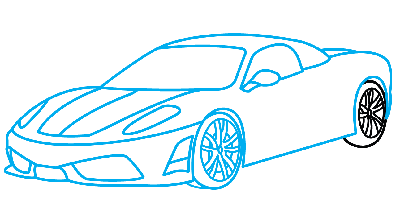 Car co2 clipart graphic free library Car Drawing Step By Step at GetDrawings.com   Free for personal use ... graphic free library