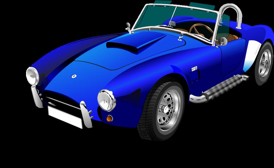 Car convertable clipart picture freeuse Public Domain Clip Art Image | Blue Shelby Cobra | ID ... picture freeuse