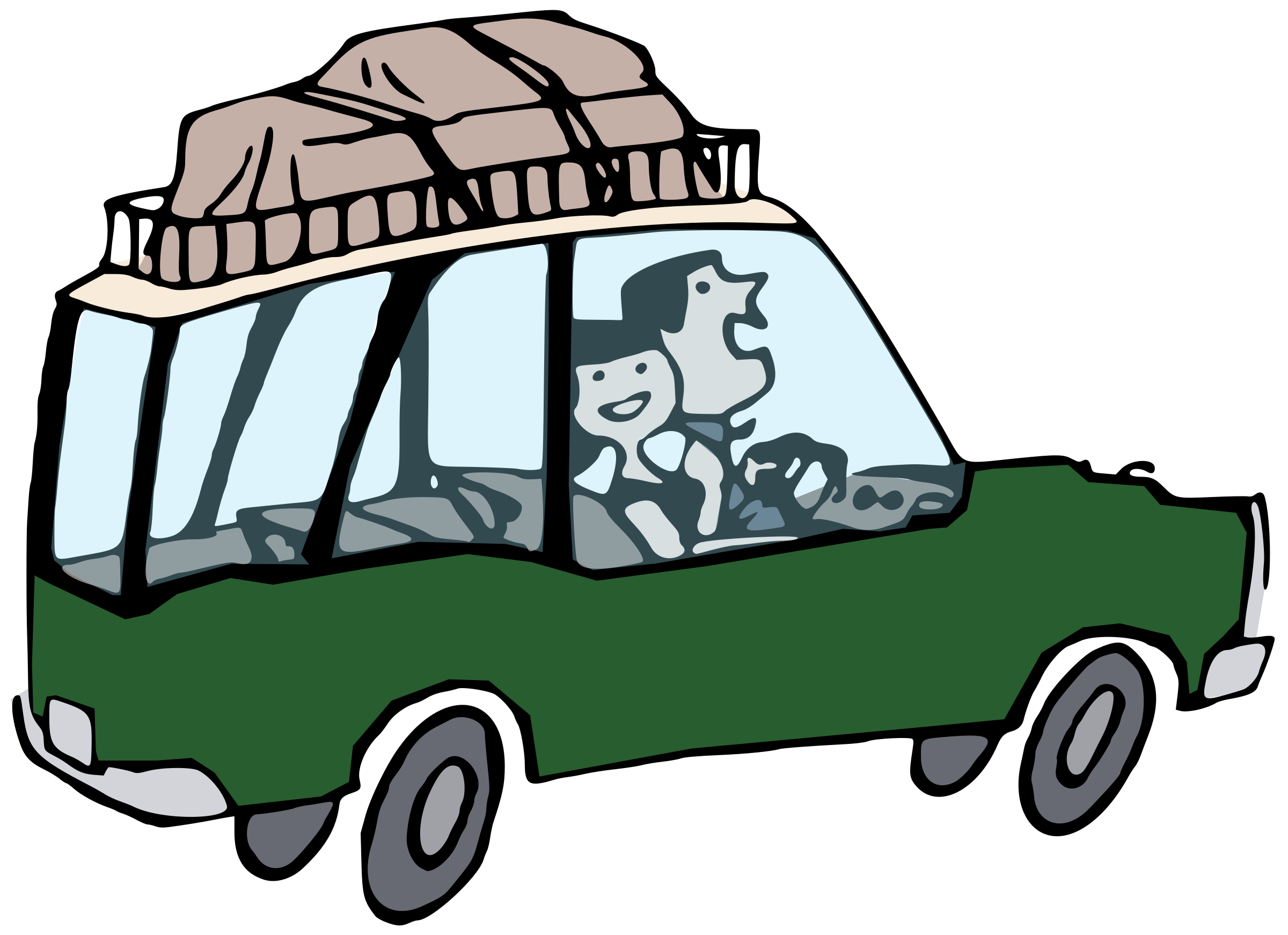 Road trip car clipart clipart royalty free library Clipart - Going On Holiday - Colour clipart royalty free library