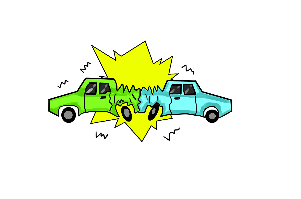 Car crash clipart transparent png transparent library Two Vehicle Crash In Front Of Walmart – The Summerville News png transparent library