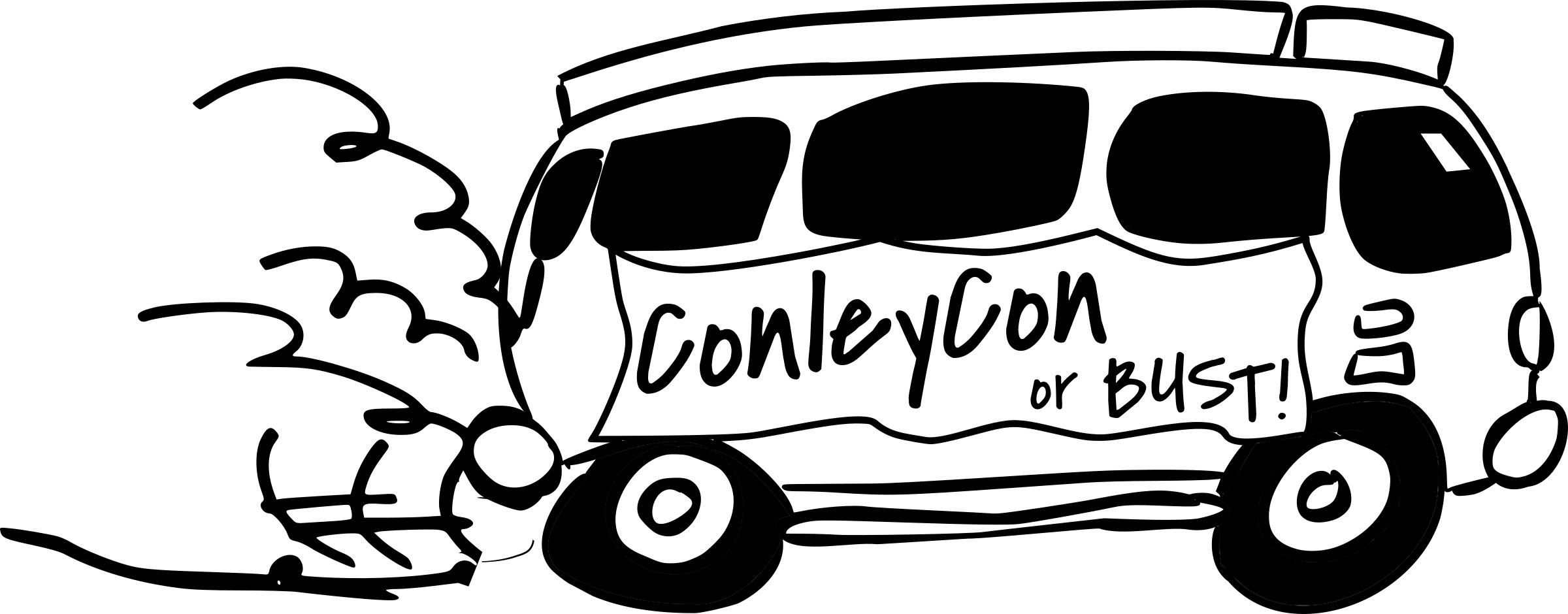 Car detailing clipart black and white svg transparent download Clipart - ConleyCon Van, black and white svg transparent download