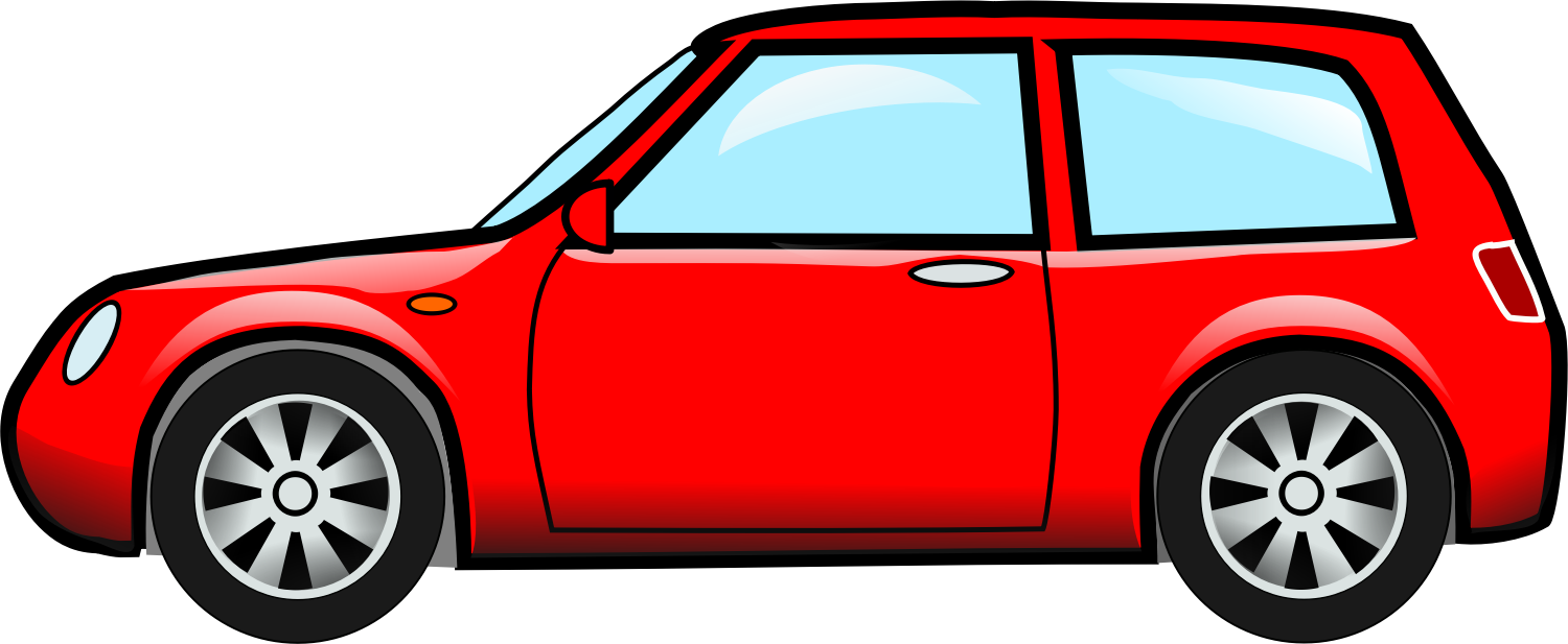 Car doors clipart clip freeuse download Clipart - car-red clip freeuse download