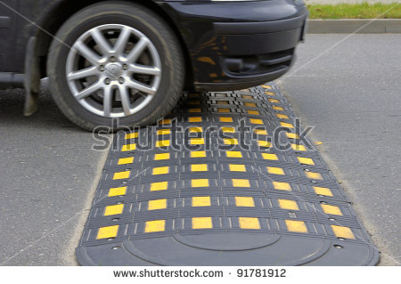 Car driving speed bump clipart picture black and white download Speed Bump Stock Images, Royalty-Free Images & Vectors | Shutterstock picture black and white download