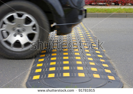 Car driving speed bump clipart graphic freeuse library Speed Bump Stock Images, Royalty-Free Images & Vectors | Shutterstock graphic freeuse library