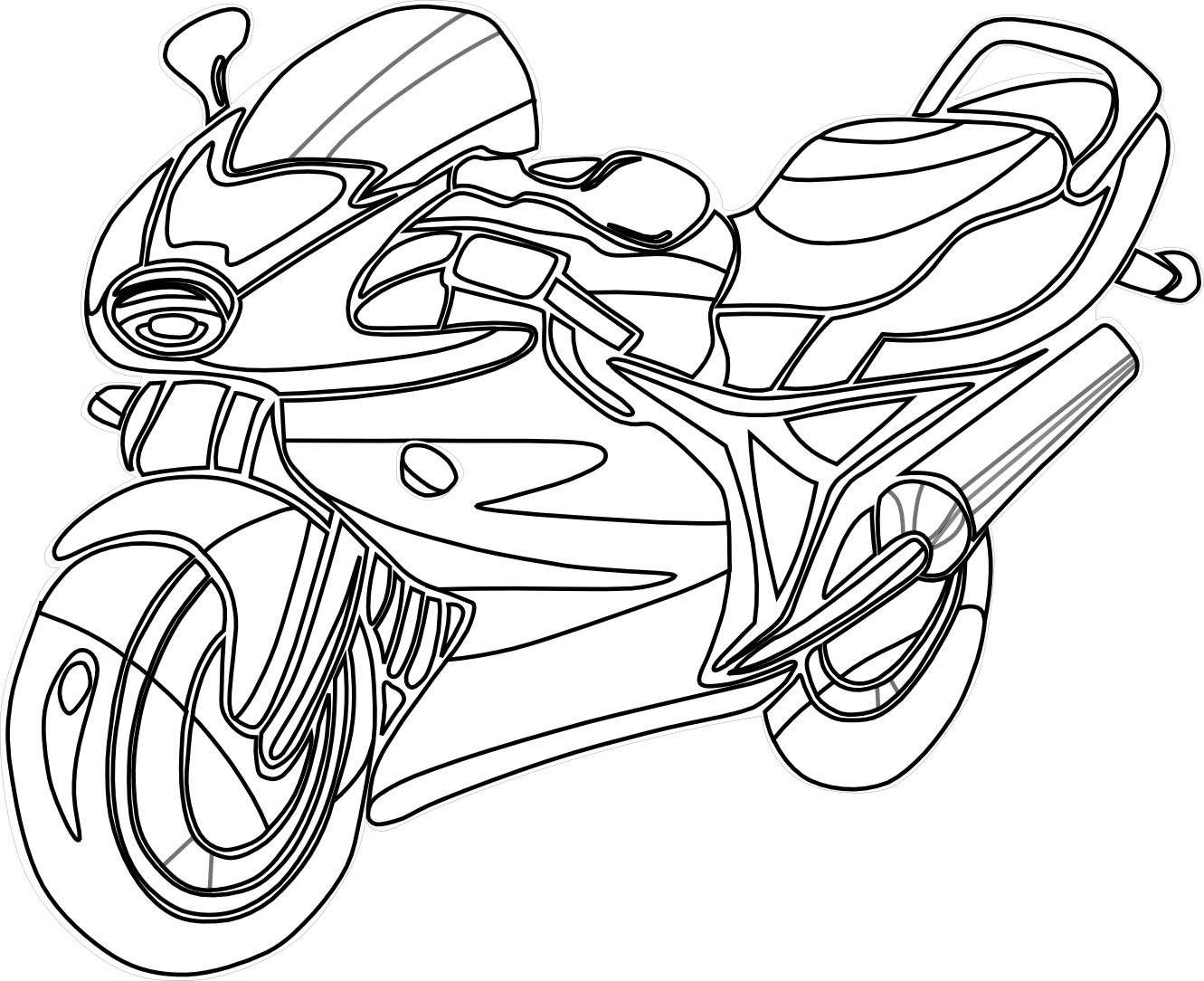 Car engine clipart black and white clip art royalty free download Motorcycle Clipart Black And White | Clipart Panda - Free Clipart Images clip art royalty free download