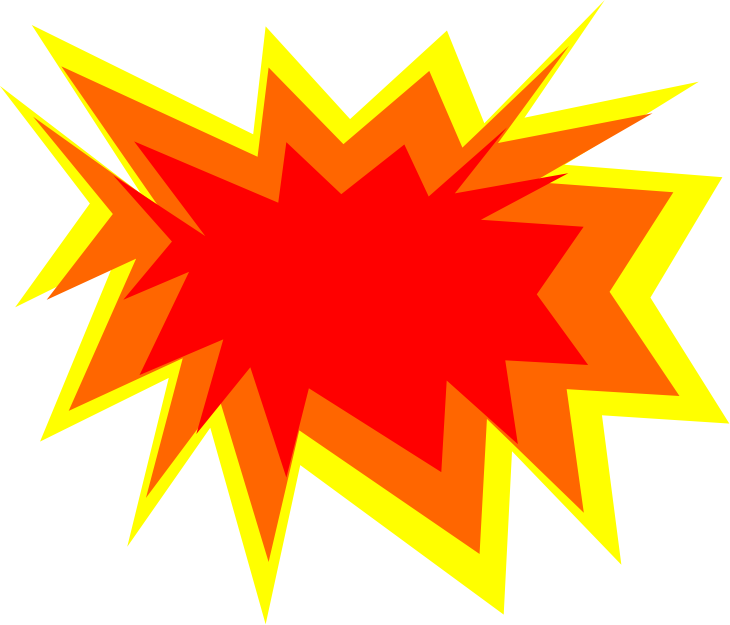 Car explosion clipart royalty free library Clipart - Explode-(Color) royalty free library