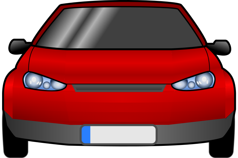 Car facing forward clipart royalty free download Clipart - car-front royalty free download