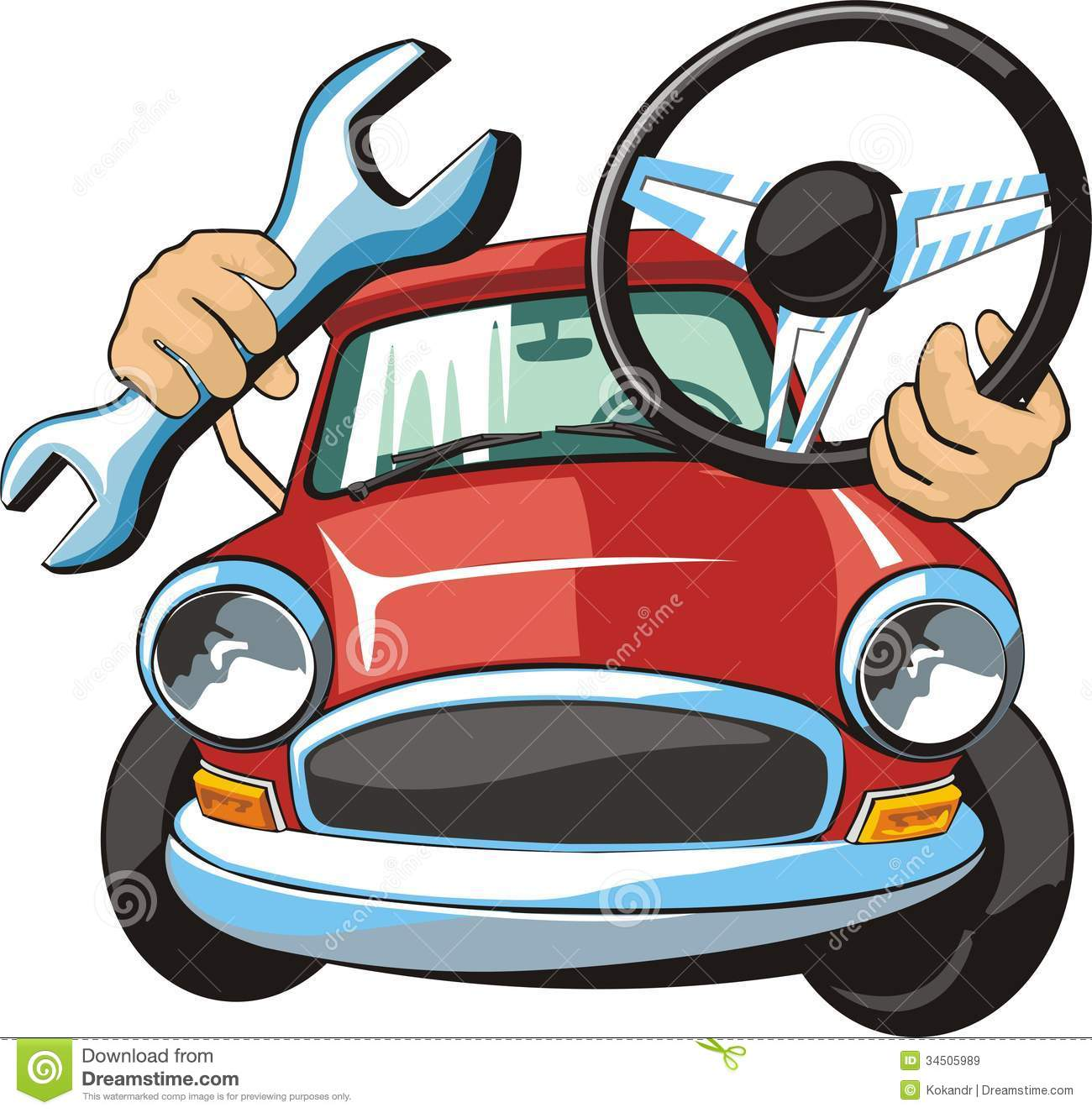 Car fix clipart picture freeuse Car steering fix | Clipart Panda - Free Clipart Images picture freeuse