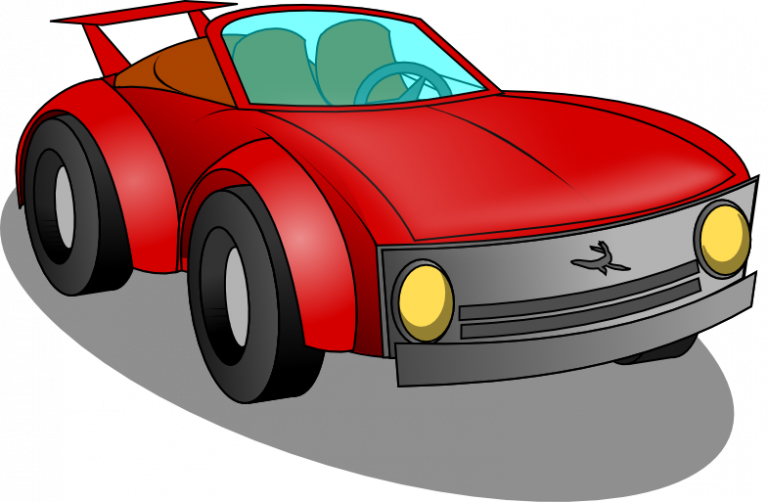 Red sports car clipart png black and white Sports Car Clipart sports car free clipart surprise birthday clipart ... png black and white