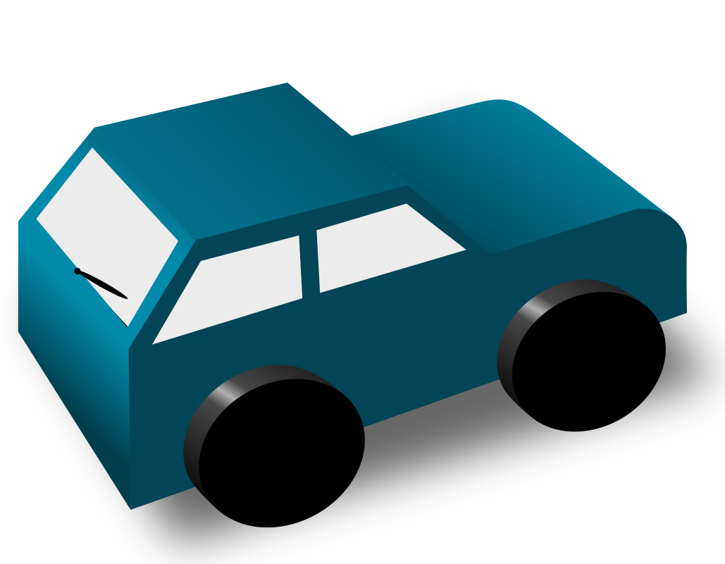 Car from behind clipart graphic freeuse download Clipart - cartoon car back graphic freeuse download
