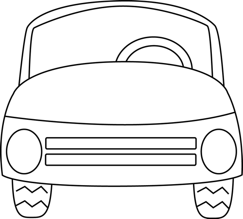 Car front clipart black and white png royalty free stock Car Black And White Clipart   Free download best Car Black And White ... png royalty free stock