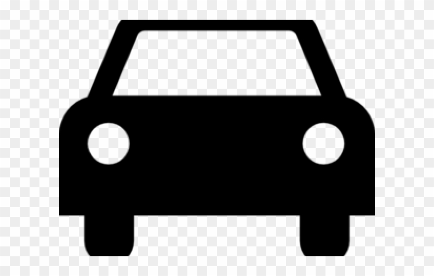 Car front clipart black and white graphic transparent stock Front Facing Car Clipart - Png Download (#1411789) - PinClipart graphic transparent stock