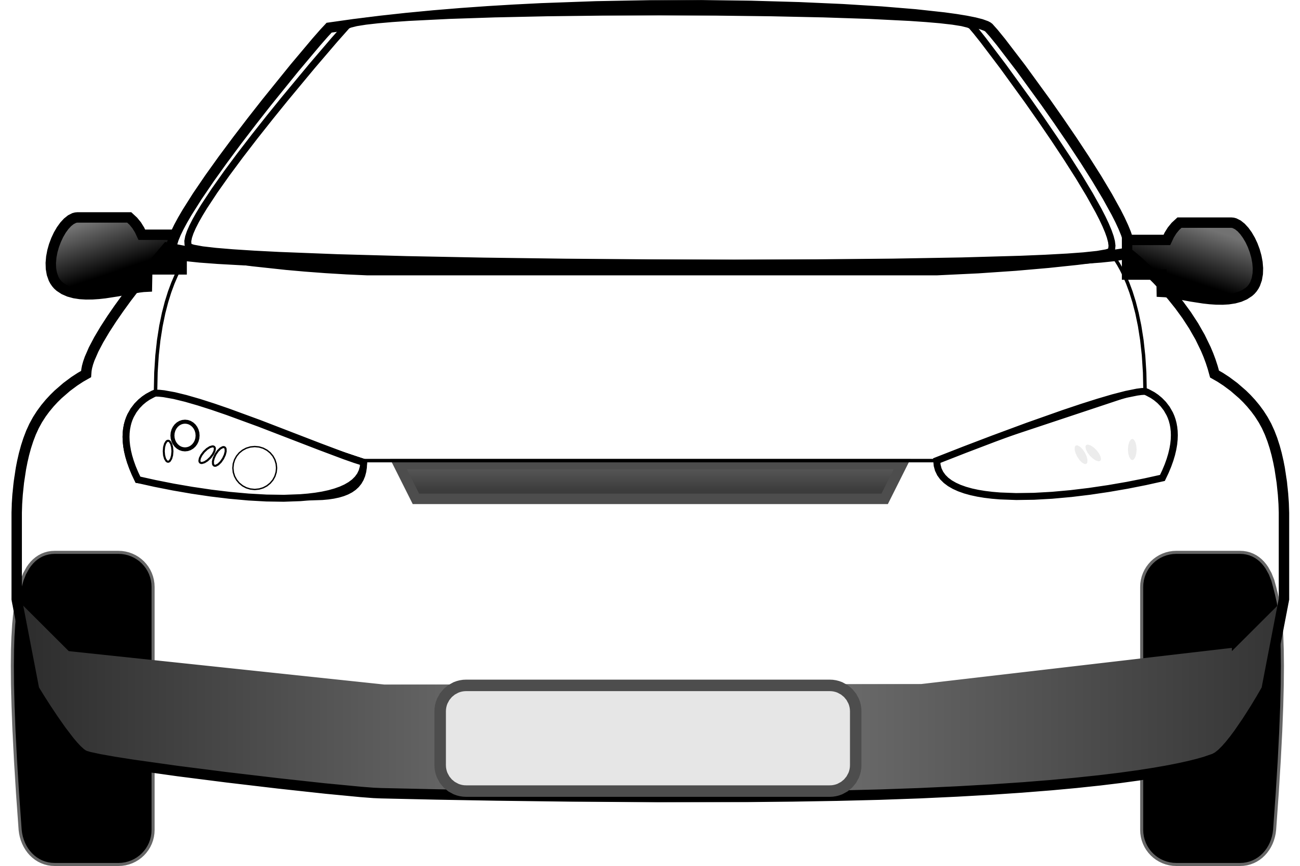 Car front clipart black and white png car front black white line   Clipart Panda - Free Clipart Images png