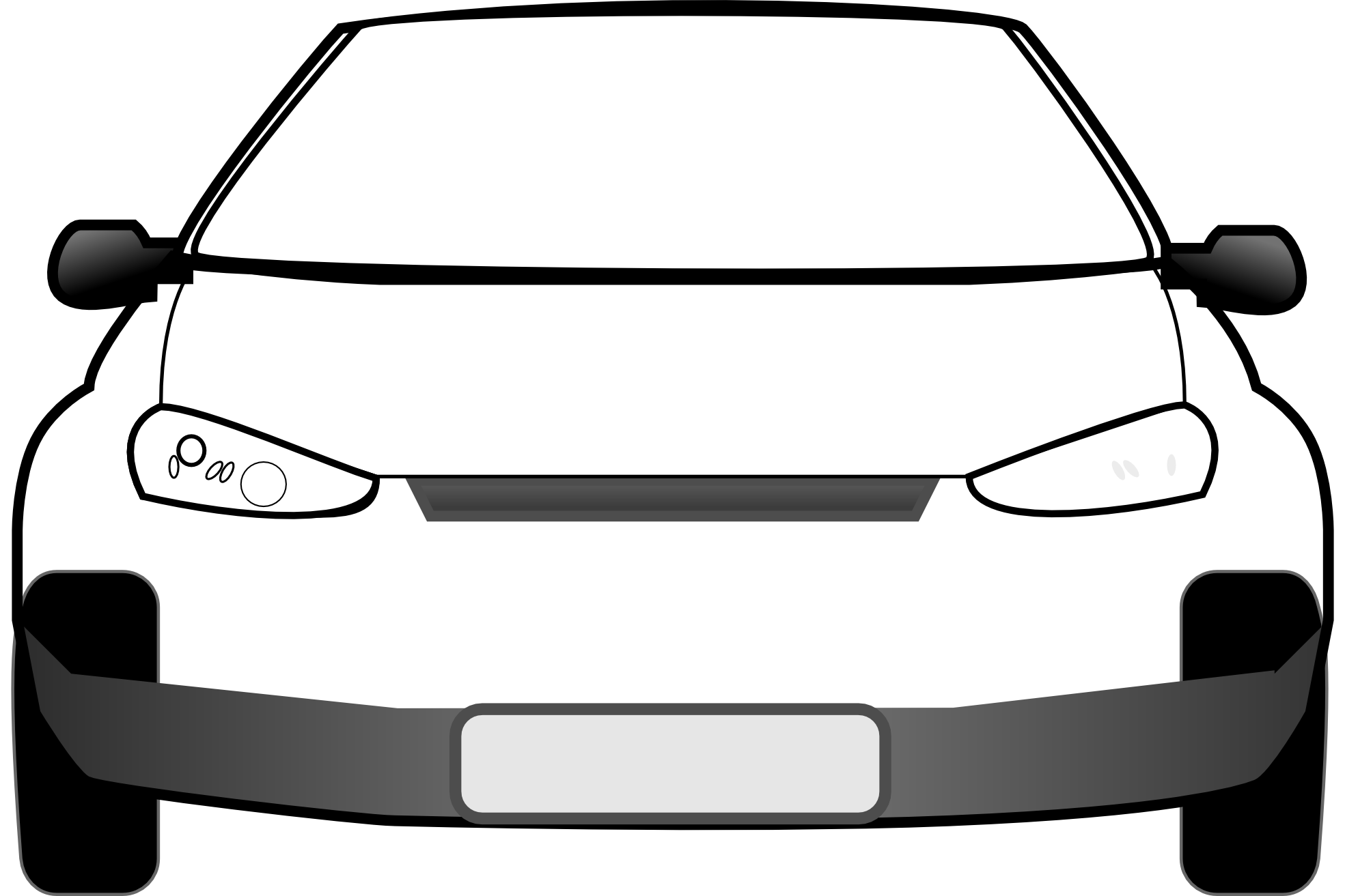 Car front vector clipart free stock Free Car Vector, Download Free Clip Art, Free Clip Art on Clipart ... free stock